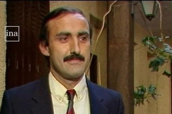 Christian Massat en 1984, avant de devenir président du Stade Toulousain