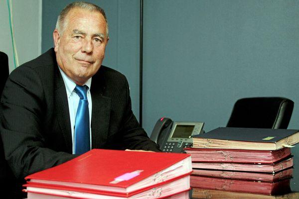 Christian Bilhac, maire de Péret et président de l'association des maires de l'Hérault