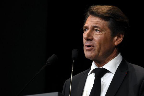 Le maire de Nice (LR) Christian Estrosi le 15 octobre dernier.