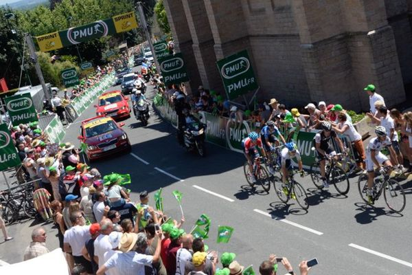 Vachon a remporté le sprint intermédiaire de Romanèches-Thorins.