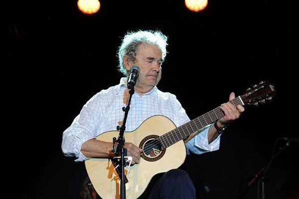 """Pierre Perret est le parrain du festival """"Alors chante"""", à Castelsarrasin."""
