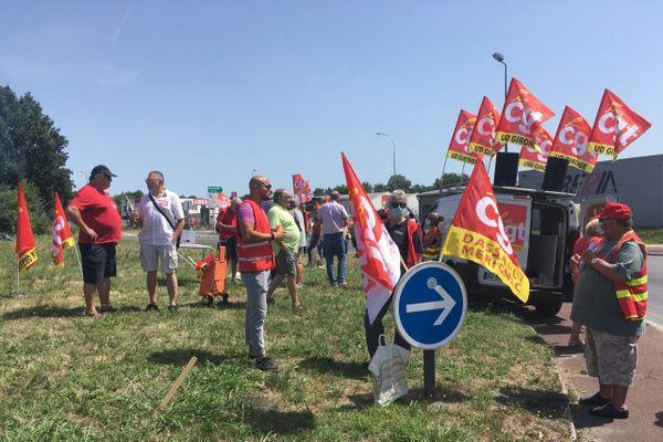 Les salariés de la filière aéronautique appelés à se mobiliser ce jeudi à Mérignac en Gironde.