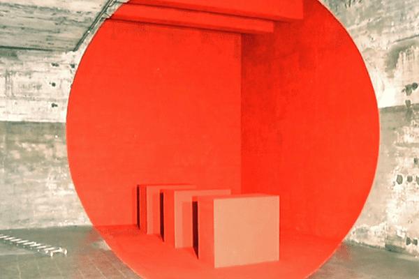 L'une des oeuvres monumentales en trompe l'oeil qui sera présentée au public en septembre à Bordeaux.