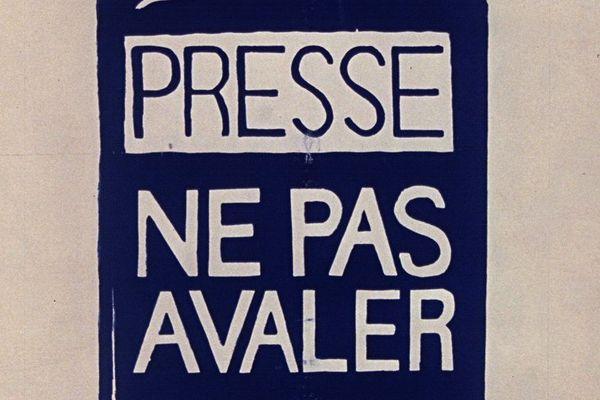 Une affiche réalisée lors des événements de Mai 68.
