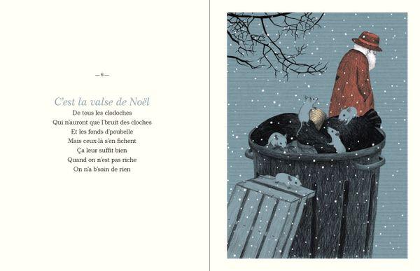 Valse de Noël de Boris Vian et Nathalie Choux