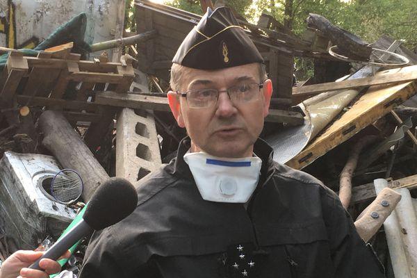 """Le général Lizurey affirme que le terrain est """"maîtrisé"""""""