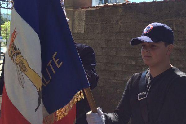 De plus en plus de jeunes deviennent porte-drapeau. Une école pour les recruter va bientôt être créer dans le Doubs.