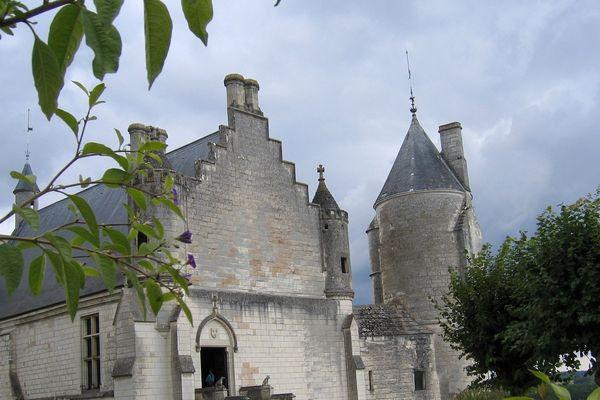 Le château de Loches, où était emprisonné Ludovic Sforza.