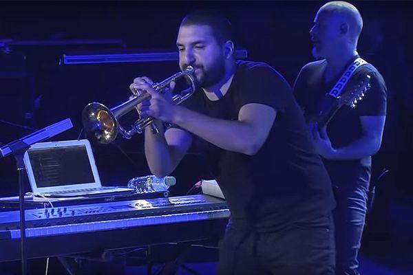 Ibrahim Maalouf sur la scène du festival Jazz à Vienne - 28 juin 2016