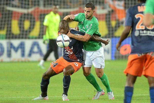 Montpellier s'incline une nouvelle fois 2-1 à domicile face à l'ASSE - 12 septembre 2015
