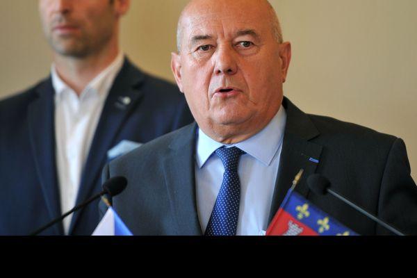 Serge Babary, maire LR de Tours - Indre-et-Loire - 2016
