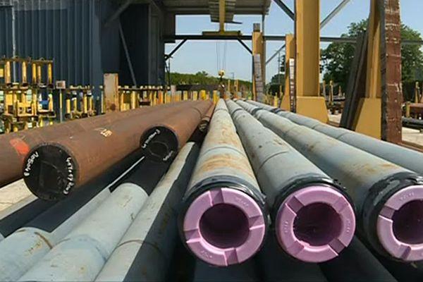 Altifort fabrique des tubes de forage à destination de l'exploitation pétrolière