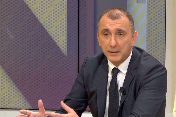 Jean-Christophe Angelini, maire nationaliste de Porto-Vecchio (Corse-du-Sud)