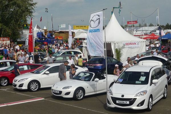 Tous les constructeurs automobiles sont présents chaque année à la foire du Mans.
