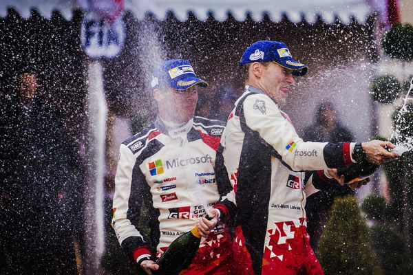 Victoire de Sébastien Ogier , Rallye de Monte Carlo 2017. Gap le 22 janvier
