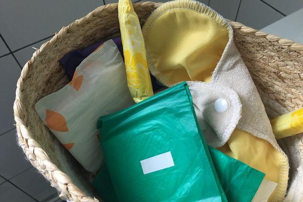 Serviettes, tampons, coupes menstruelles, les protections hygiéniques sont collectées à Bourganeuf au mois de mars.