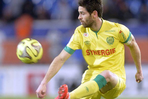 Olivier Veigneau, le capitaine du FC Nantes, blessé à la cuisse, ne jouera pas ce soir contre Évian Thonon Gaillard à la Beaujoire pour cette 29ème journée de Ligue 1