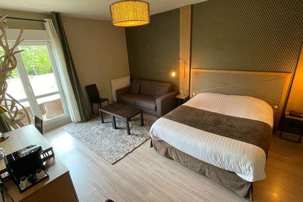 Chaque coureur du Tour de France dormira dans une chambre semblable à celle-ci, au Château du clos de la Ribaudière.