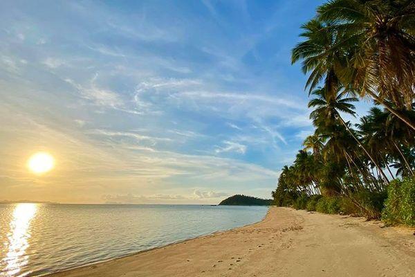 Taling Ngam Beach, une des plages de l'île thaïlandaise de Ko Samui.