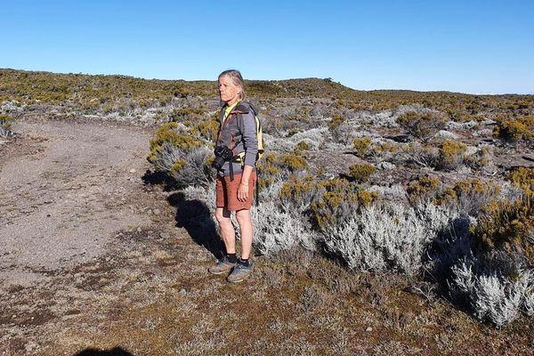 Brigitte Ligney a disparu le 26 juillet à La Réunion lors d'une randonnée.