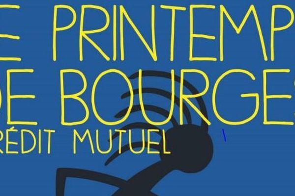 Affiche du Printemps de Bourges, édition 2015.