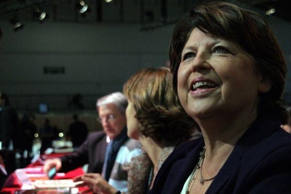 Martine Aubry a fait ses adieux aux militants