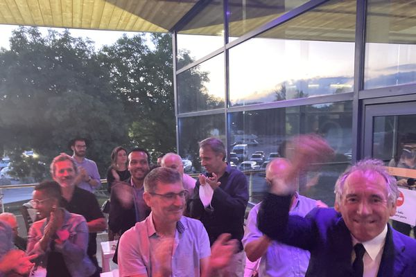 François Bayrou savoure sa victoire à Pau