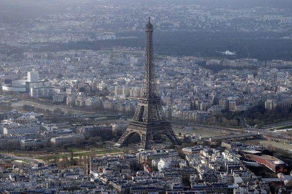 Illustration. La Tour Eiffel