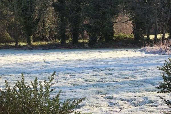 Ambiance d'hiver janvier 2015 à Plaintel