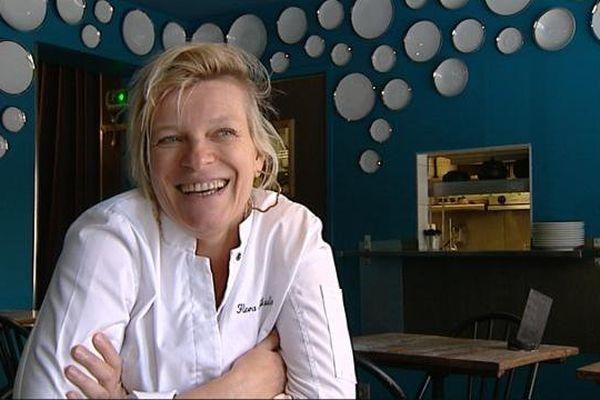 La chef Flora Mikula sera la marraine des Francos Gourmandes 2015.