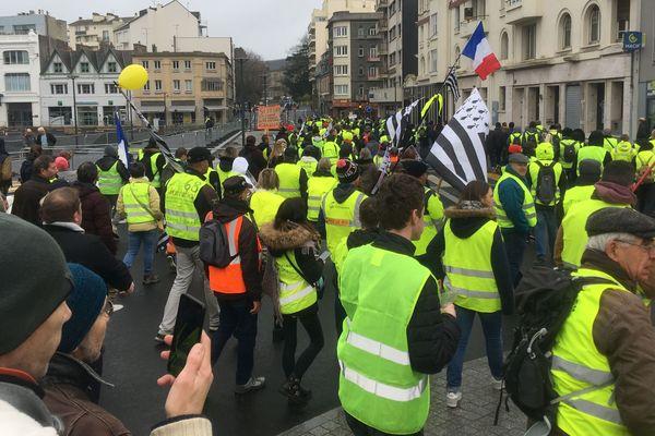 Ils sont plus de 3 000 dans le centre-ville de Saint-Brieuc