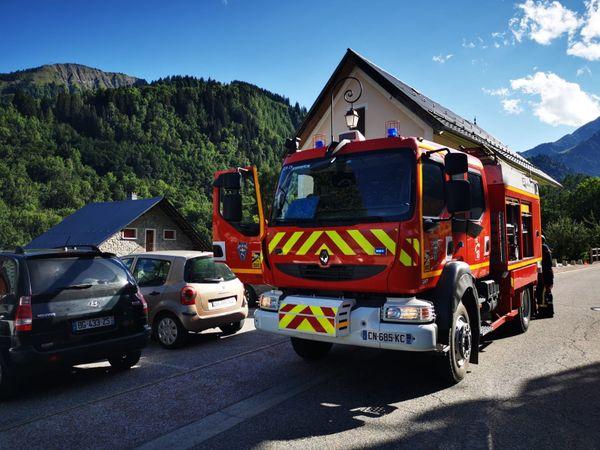Près de 35 pompiers ont été engagés sur l'intervention