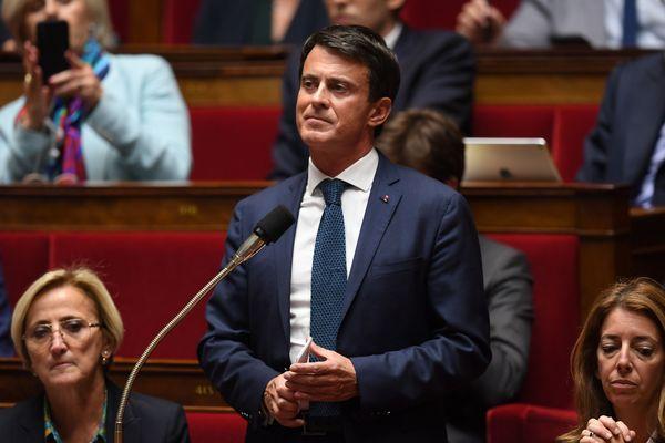 Manuel Valls avait été élu avec 50,30 % des voix en juin 2017 dans sa circonscription de l'Essonne.