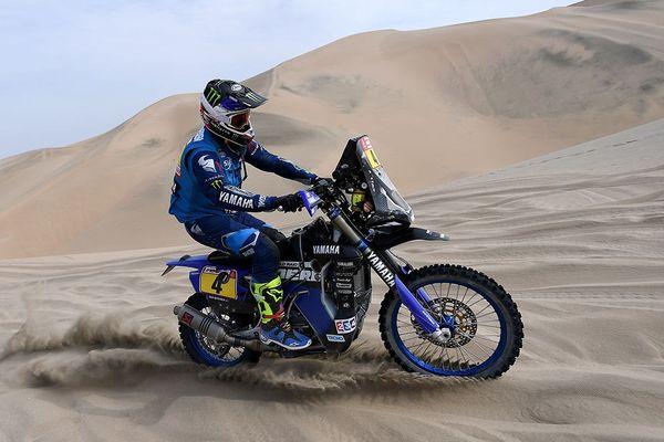 Adrien Van Beveren sur le Dakar