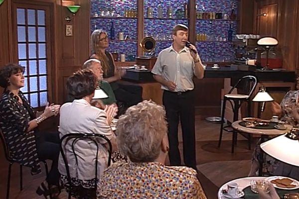 """9 septembre 1995 : ça parle et ça chante ch'ti  dans l'émission """"L'tiot café du sam'di"""""""