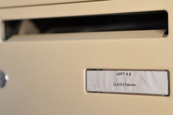 La boîte aux lettres de Fabien Clain à Alençon.