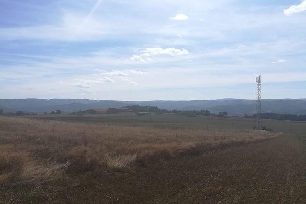 Depuis début juillet, un agriculteur de Haute-Loire constate un mal-être dans son troupeau après l'installation d'une antenne 4G a proximité de son exploitation.