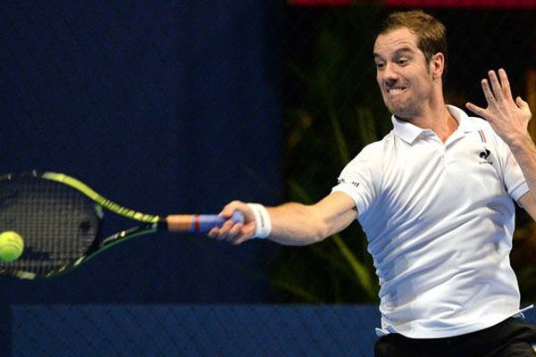 Le Français Richard Gasquet annule sa venue à l'Open de tennis de Caen 2019. (photo d'illustration)