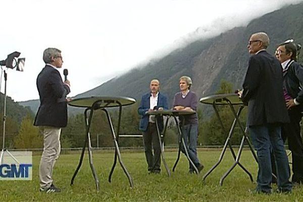 Bernard Portugal et ses invités à Séchilienne
