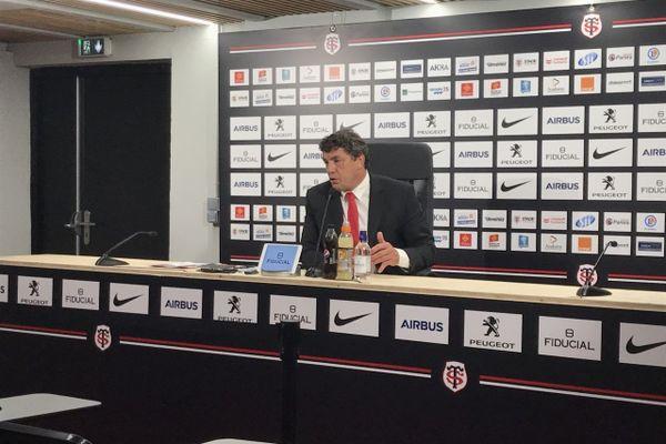 Didier Lacroix président du Stade-Toulousain