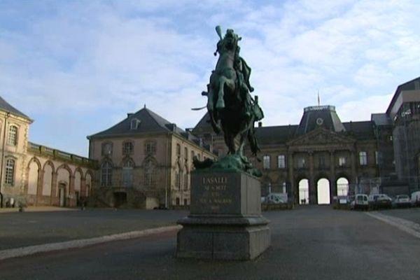 La cour d'honneur du Château de Lunéville
