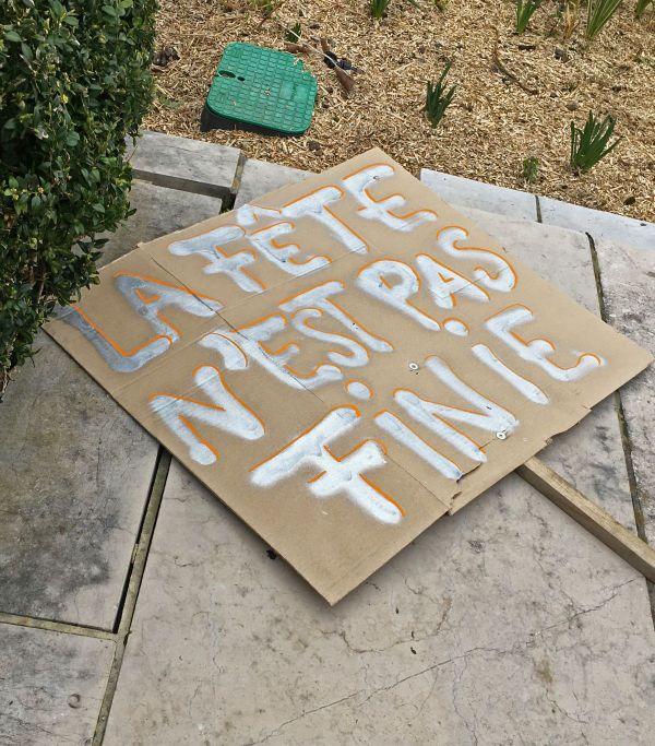 Rouen le 17 mars 2021 - Manifestation des acteurs du monde culturel