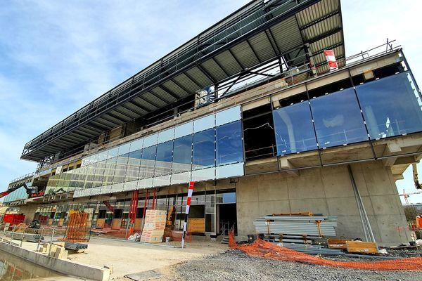 La livraison de la Reims Arena est prévue début 2022