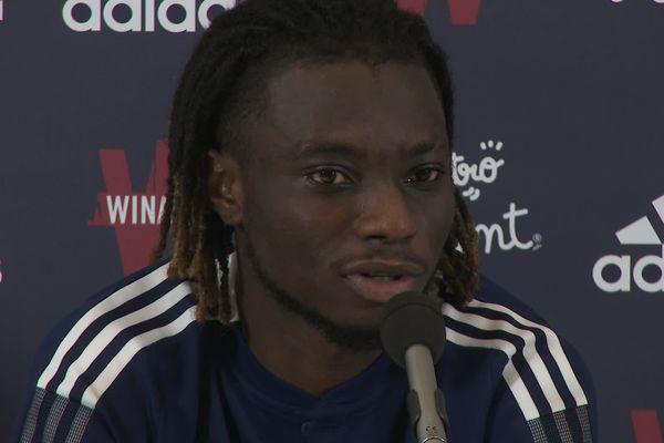 Le ghanéen Gideon Mensah prêté par le RB Salzbourg au Girondins de Bordeaux. 05/08/21