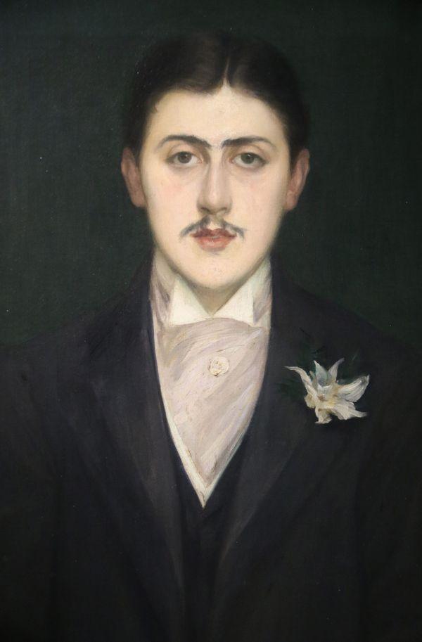 Le Portrait de Marcel Proust, par Jacques-Emile Blanche, 1892.