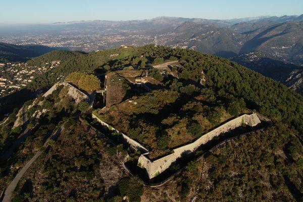 Le fort de la Revère à Eze (Alpes-Maritimes), qui ouvre ses portes pour la première fois au public lors des Journées européennes du patrimoine 2021.