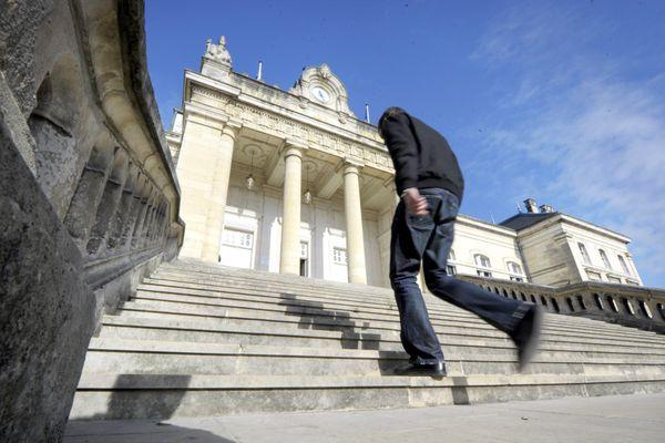 Le tribunal d'Auxerre en 2011. (archives)