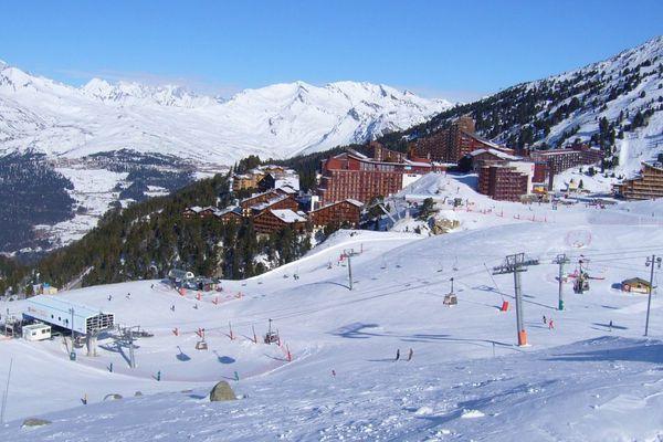 La station de ski des Arcs.