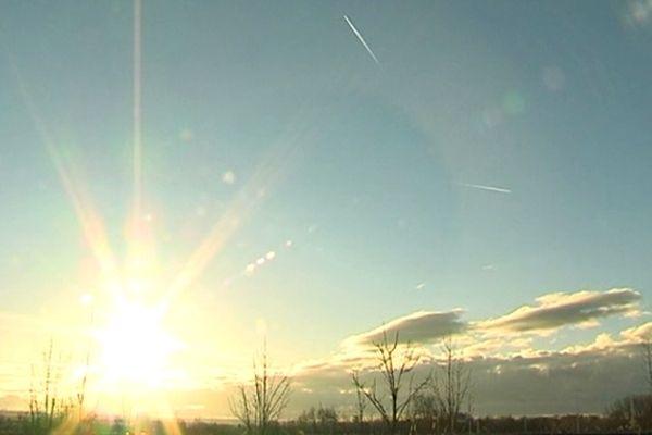Soleil sur Reims en ce 29 décembre 2012.