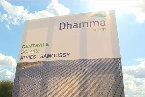 Coup d'envoi de 9 mois de  travaux pour donner vie sur 100 hectares à la plus importante centrale solaire des hauts de France.